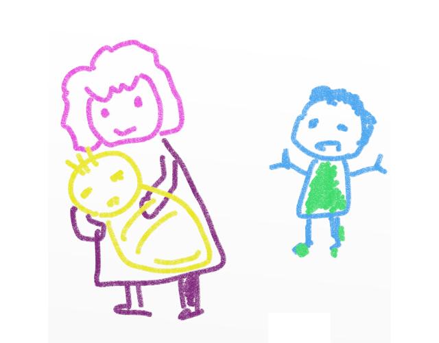 ある日、学校から帰ると普通に母親がいた