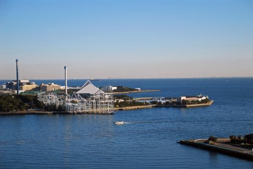 2011年3月11日横浜の海で